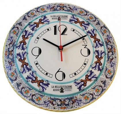 Wall clock - decoration Ricco Blu