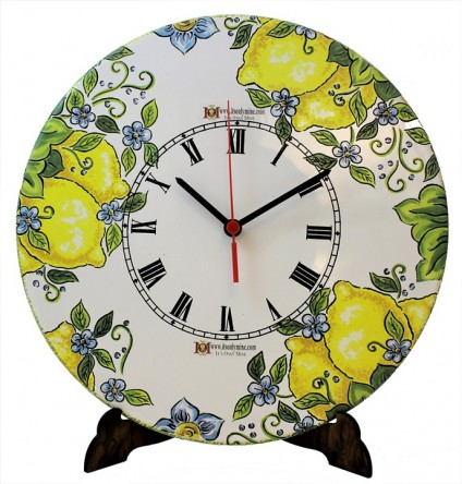 WALL CLOCK -  decoration Lemons  PERSONALIZED